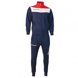 TRACKSUIT GIVOVA CAMPO YELLOW BLUE / RED
