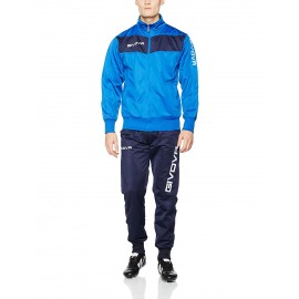 TRACKSUIT GIVOVA VISA YELLOW ROYAL/ BLUE