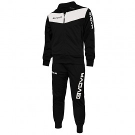 TRACKSUIT GIVOVA VISA YELLOW BLACK / WHITE