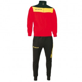 TRACKSUIT GIVOVA CAMPO YELLOW RED / YELLOW