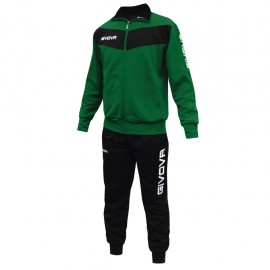 TRACKSUIT GIVOVA VISA YELLOW GREEN / BLACK