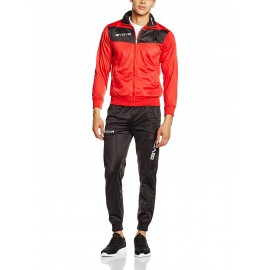 TRACKSUIT GIVOVA VISA RED / BLACK