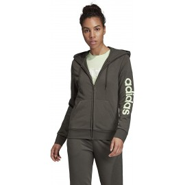DAMEN SWEAT ADIDAS LIN FULL ZIP HOODY - FJ5386