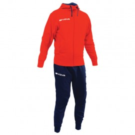 TRACKSUIT GIVOVA POKER YELLOW RED / BLUE