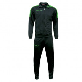 TRACKSUIT GIVOVA REVOLUTION BLACK / GREEN