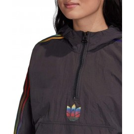 GIACCA DONNA ADIDAS CROPPED HALFZIP - GD2262