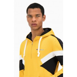 FELPA UOMO CHAMPION HALF ZIP HOODED - 217484