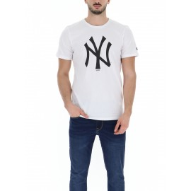 T-SHIRT UOMO NEW ERA TEAM LOGO TEE NEYYAN WHITE-11863818