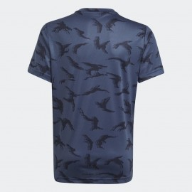 T-SHIRT BAMBINO ADIDAS DESIGNED TO MOVE CAMOUFLAGE- GN1487